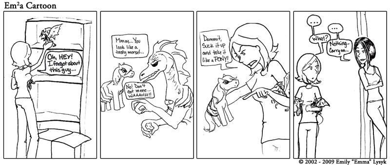 Take It Like A Pony!