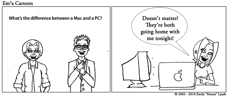 Difference Between a Mac and a PC?