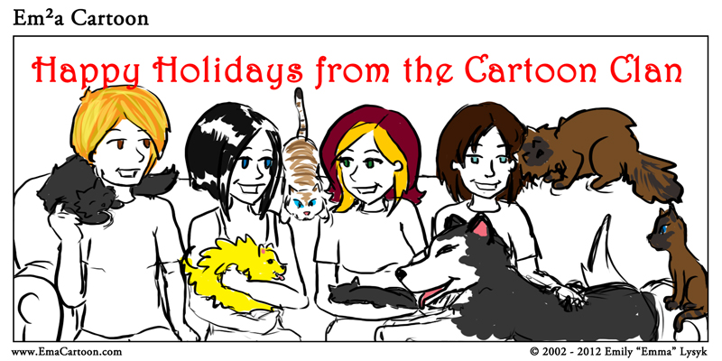 Happy Holidays! And into 2013!
