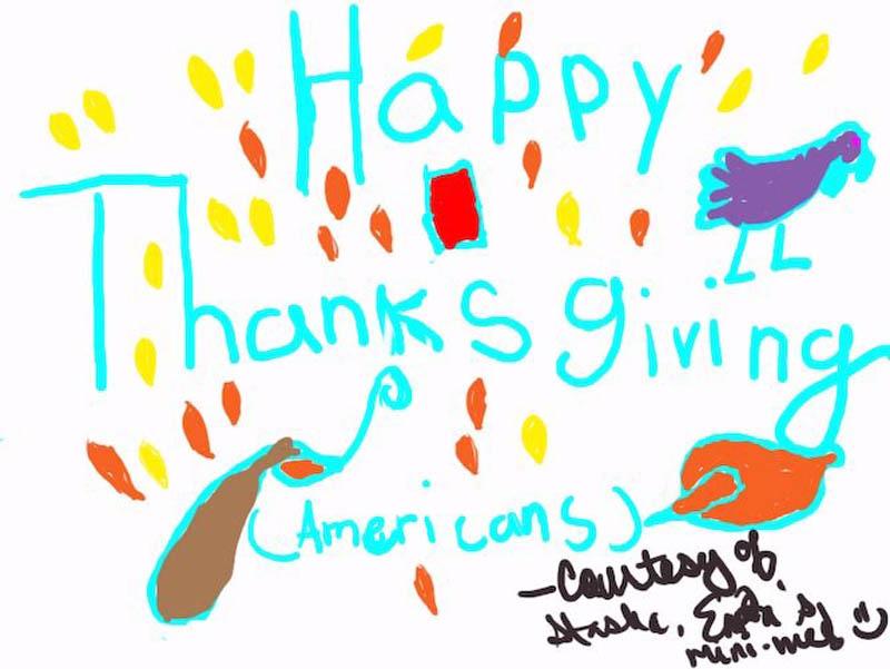 Happy (American) Thanksgiving