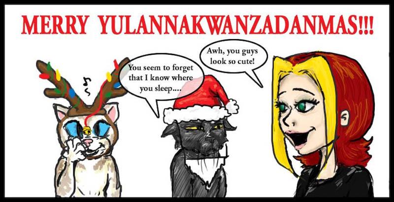 Merry Yulannakwanzadanmas