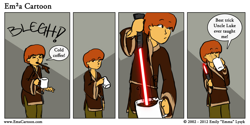 Now THAT'S a use for a lightsaber!